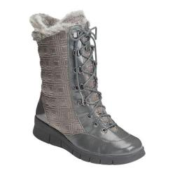 A2 by Aerosoles Women's Enamel Winter Boot Grey Combo