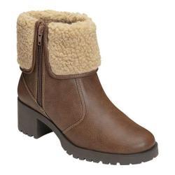 Aerosoles Women's Boldness Light Brown Combo Faux Leather/Faux Fur