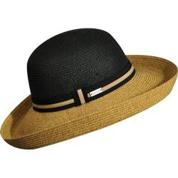Women's Betmar Perla Sunhat Black/Natural