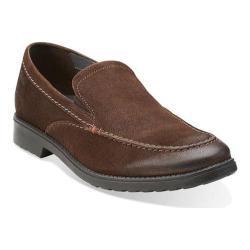 Men's Clarks Rakin Free Dark Brown Leather