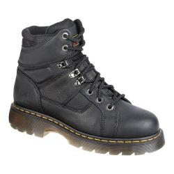 Dr. Martens Heritage Ironbridge ST 8 Tie Lace to Toe Boot Black Industrial Grizzly