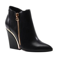 Women's Luichiny Get Funky Bootie Black Leather