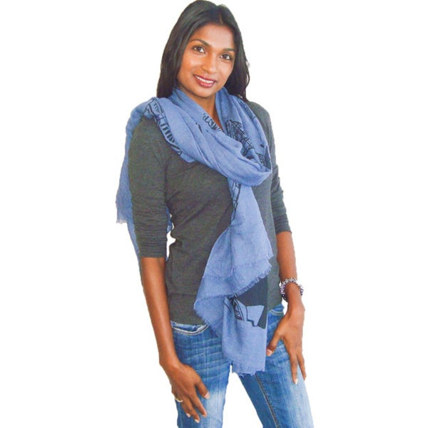 I Want To Travel The World Fashion Scarf