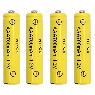 Solar Light AAA 700mah Ni-CD Rechargable Batteries (Pack of 12)