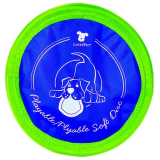 Love2Pet Plyable Soft Disc Dog Toy