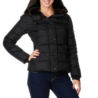 S13/NYC Women's 'Lafayette' Black Down Jacket