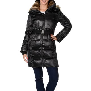 S13/NYC Women's 'Alpine' Jet Black Down Jacket