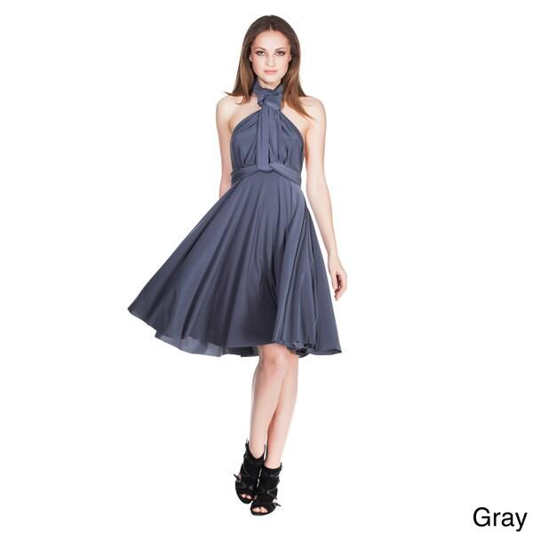 Von ronen new york women s short convertible dress one size fits 0 12