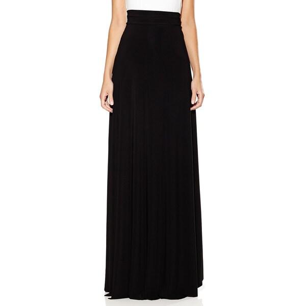 Von Ronen New York Women's 'Zenya' Convertible Maxi Wrap Skirt