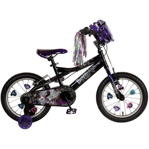 Bratzillaz - 16 inch Black/Purple Bike