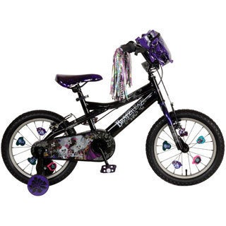 Bratzillaz 16-inch Black/ Purple Bike