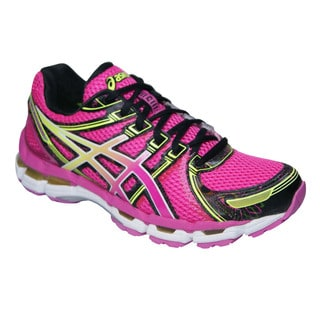 Asics Women's 'Gel Kayano 19' Pink and Black Running Shoes