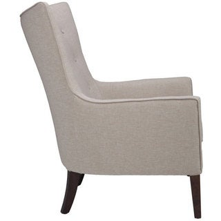 Sunpan Auberge Grey Fabric Armchair