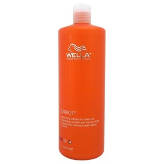 Wella Enriched Moisturizing For Coarse Hair 33.8-ounce Shampoo