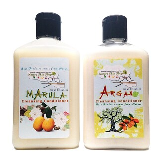 Argan and Marula Botanical Cleansing Conditioners (Set of 2)