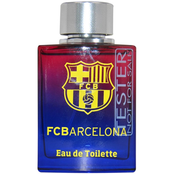 Air-Val International FC Barcelona Men's 3.4-ounce Eau de Toilette Spray (Tester)