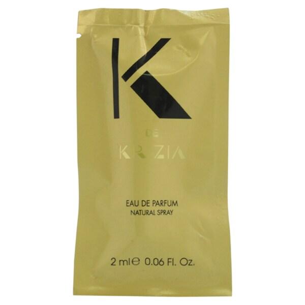 Krizia K de Krizia Women's 2 ml Eau de Parfum Spray Vial (Mini)