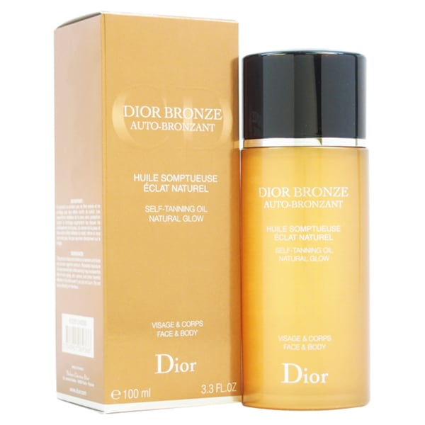 Christian Dior Dior Bronze Self Tanning Oil Natural Glow Face & Body 3.30-ounce Tanning Oil