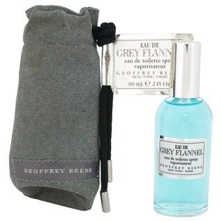 Geoffrey Beene Eau De Grey Flannel Men's 2-ounce Eau de Toilette Spray