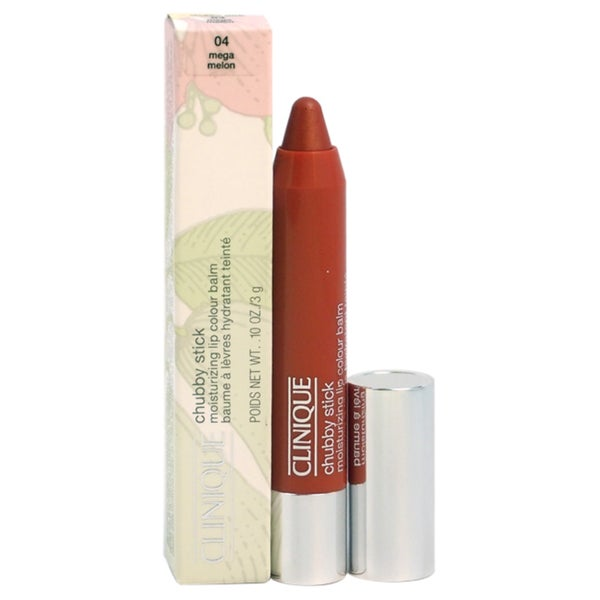Clinique Chubby Stick Moisturizing Lip Colour Balm # 04 Mega Melon