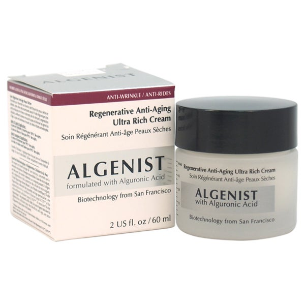 Algenist Regenerative Anti-Aging Ultra Rich Cream 2-ounce Moisturizer