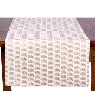 Goldtone Khari Table Runner (India)