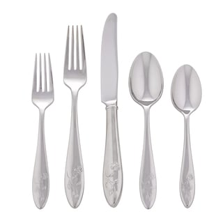 Lenox Butterfly Meadow 5-piece Stainless Flatware Place Setting