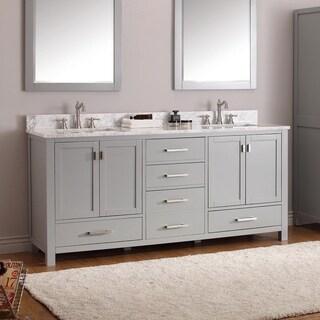 Avanity Modero Double Vanity Combo in Chilled Grey