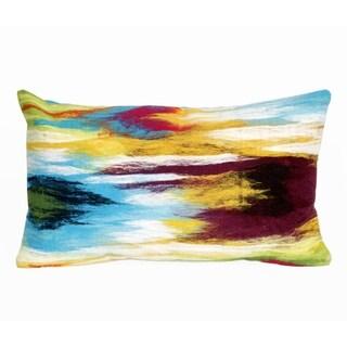 Dye Wash Indoor-Outdoor Throw Pillow