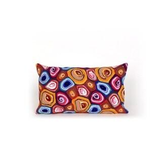 Geo Indoor-Outdoor Throw Pillow