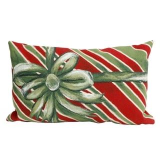 Present Time Indoor-Outdoor Throw Pillow