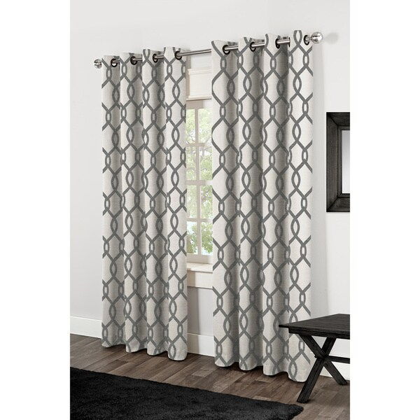 Neptune Grommet Top Curtain Panel Pair