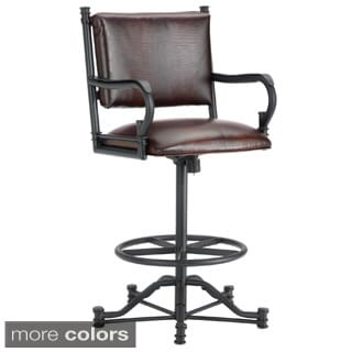Baltimore Tilt Swivel Counter Stool with Arms