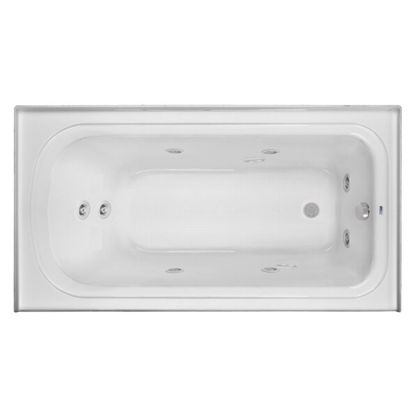 Clarke Product 'Vision' Left-skirted Acrylic Whirlpool Tub