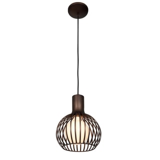 Access Lighting Chuki 1-Light 15 inch Metal Ribbed Pendant