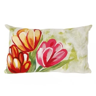 Spring Flower Decorative Throw Pillow