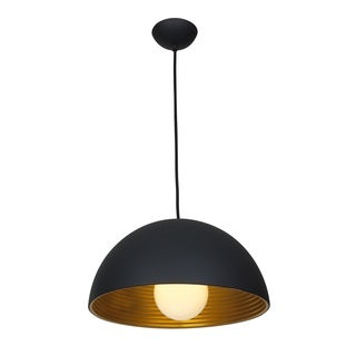 "Access Lighting Astro 1-Light 16"" Dome Pendant"