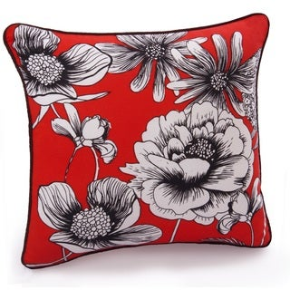 Jovi Home Camilla Floral 17-inch Decorative Throw Pillow