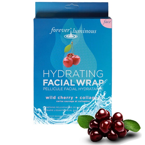 My Spa Life Wild Cherry and Collagen Hydrating Pellicule Facial Wraps (Set of 3)