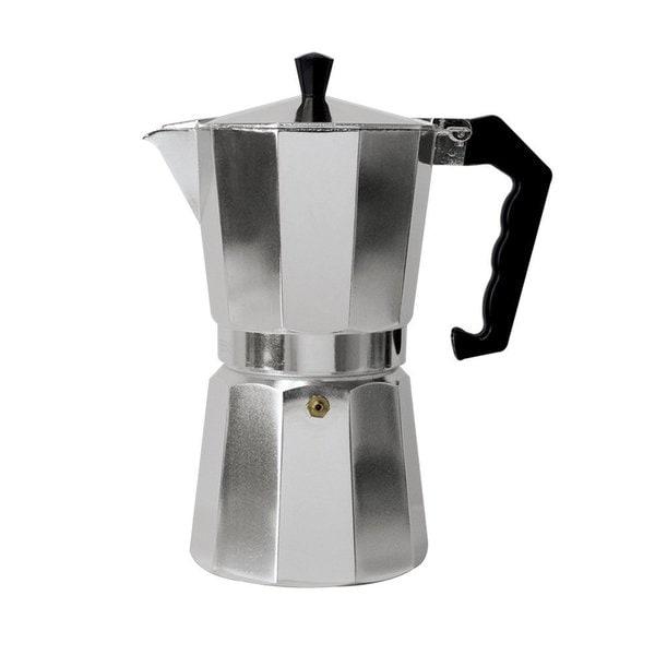 Epoca Primula PES-3312 12-Cup Aluminum Stovetop Espresso Maker 13892095