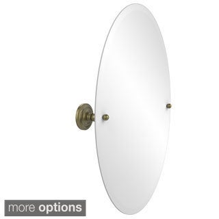 Prestige 'Que New' Unframed Oval Wall Mirror