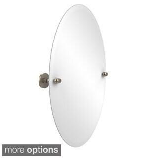 Prestige 'Tango' Frameless Oval Wall Mirror