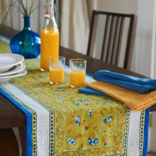 Couleur Blue/ Green Nature Table Runner