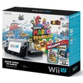 Wii U 32GB Console Super Mario 3D World and Nintendo Land Bundle - Black