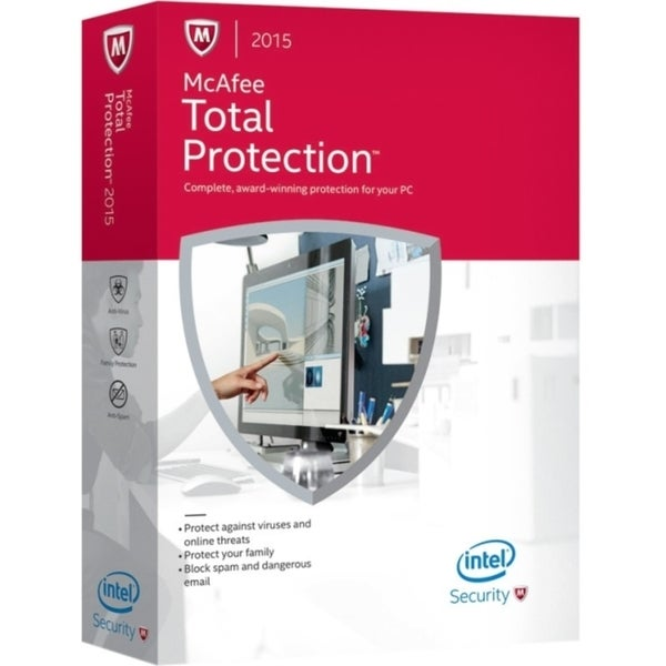 McAfee Total Protection 2015 - 3 PC