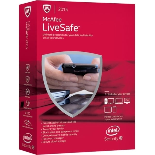 McAfee LiveSafe 2015 - Unlimited Device