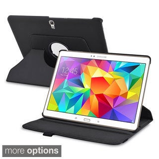 INSTEN 360 Rotating Swivel Stand Leather Case for Samsung Galaxy Tab S 10.5 T800