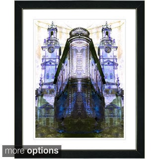 Studio Works Modern 'Flatiron Building' Framed Fine Art Print