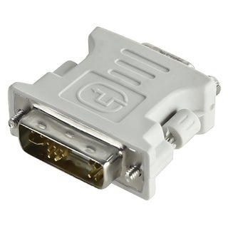 INSTEN White DVI-A Male to VGA Female Adapter Cable