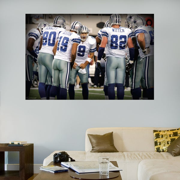 Fathead Dallas Cowboys Huddle Mural Wall Decals